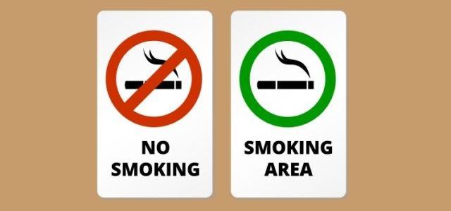 Ada baiknya jika ingin merokok, carilah smoking area!