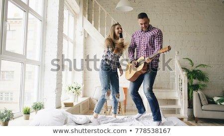 Funny Having Loving Couple Dance