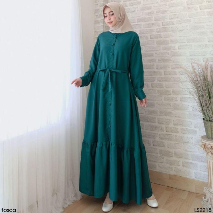 10 Ide Busana Hijab Dengan Kain Toyobo Siap Siap Terlihat Makin