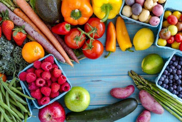 perbanyak buah dan sayur