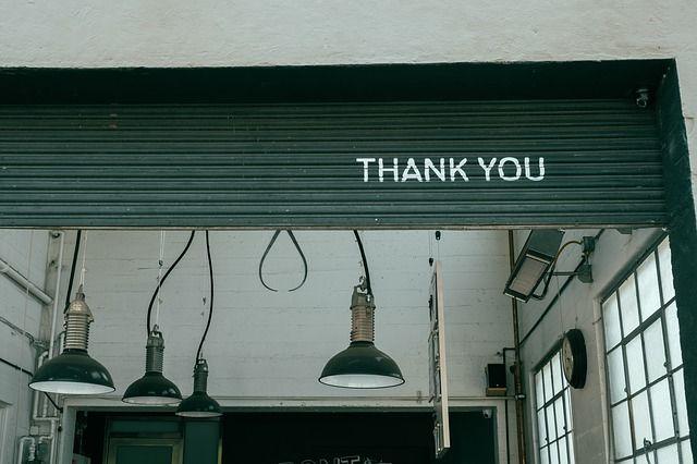Terimakasih dan maaf menjadi penting
