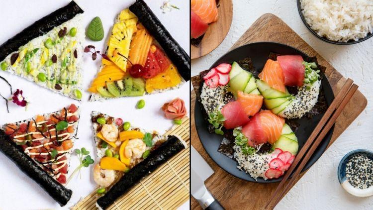 6 Resep Sushi Kekinian Yang Nggak Cuma Digulung Saja Bikin Di Dapur Sendiri Bisa