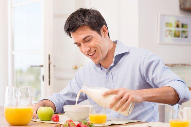 pola makan pria