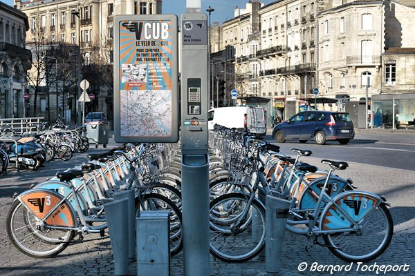 Penyewaan sepeda Vcub di Bordeaux