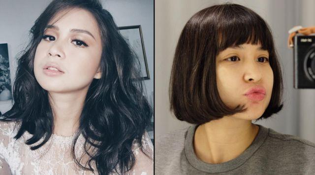 10 Transformasi Gaya Rambut Selebritas Ini Bikin Kamu Lebih Pd Untuk Potong Poni Ya