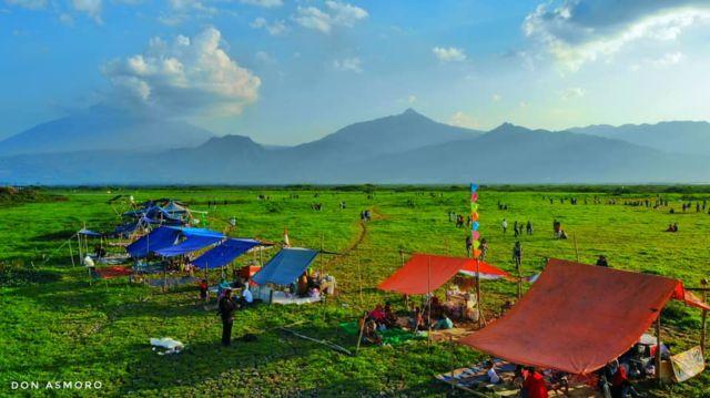 Pemandangan New Sabana Rawa Pening