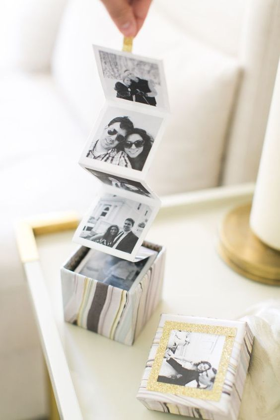 Pull Out Photo Album Box