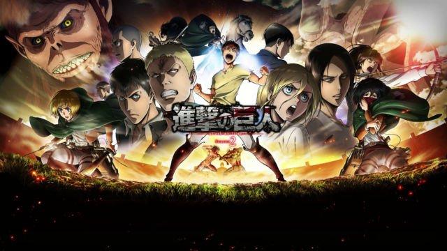 """Attack on Titan, """"Shinzou wo sasageyo!"""""""