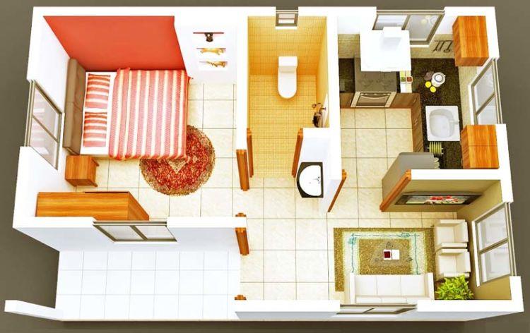 61 Gambar Desain Rumah Minimalis Sederhana Kamar Gratis Download
