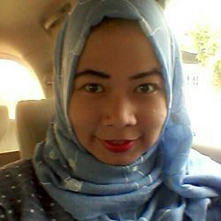 Hasil inspirasi make-up dari mbak Ayyun Azzuyyin