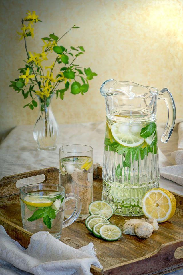 Konsumsi infused water