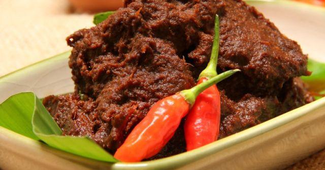 Masakan Indonesia Rendang Daging Sapi