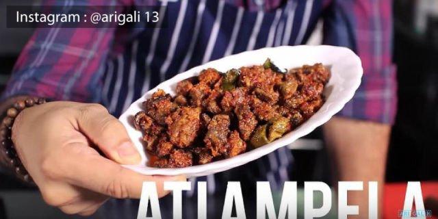Masakan Indonesia Sambal Goreng Ati Ampela