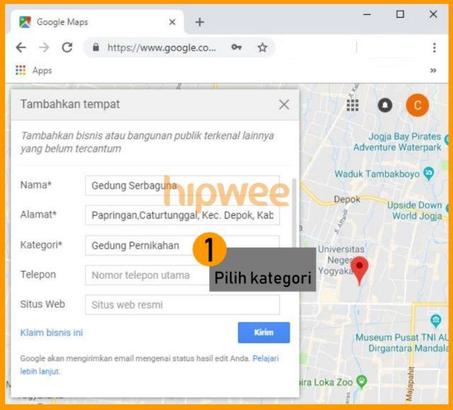 google maps solusi