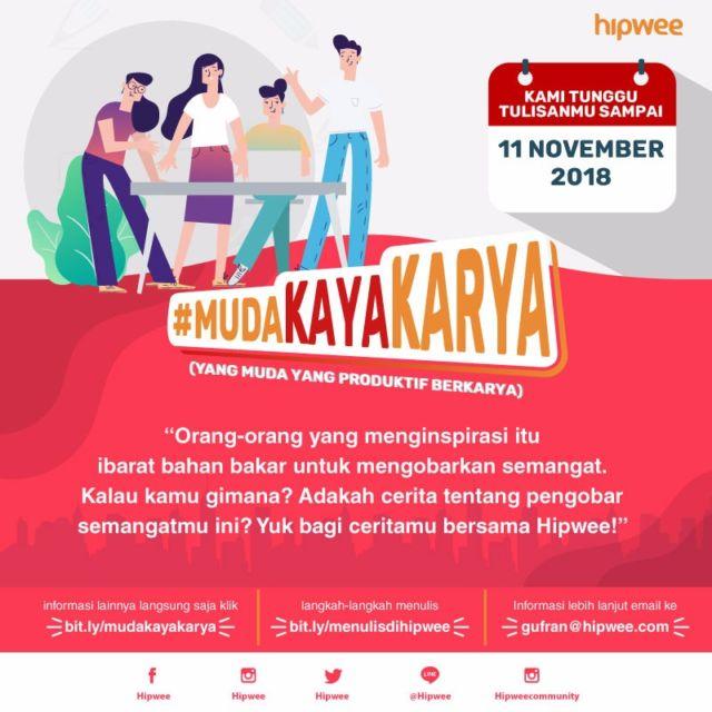 Kompetisi Menulis #MudaKaryaKaya