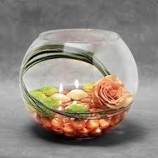 Lilin dalam aquarium