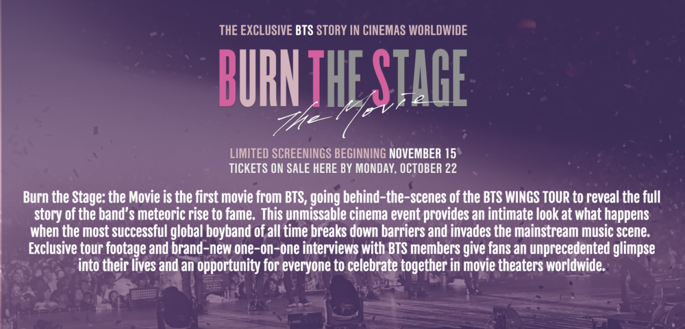 Tiket Burn The Stage: The Movie Diprotes Kemahalan, Beberapa