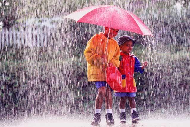 Jas Hujan dan Payung