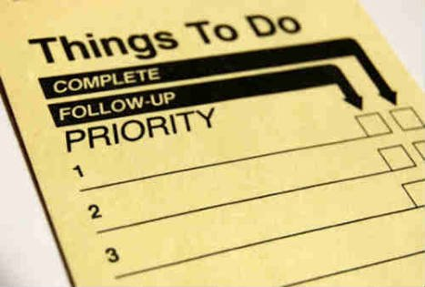 Tentukan skala prioritasmu!
