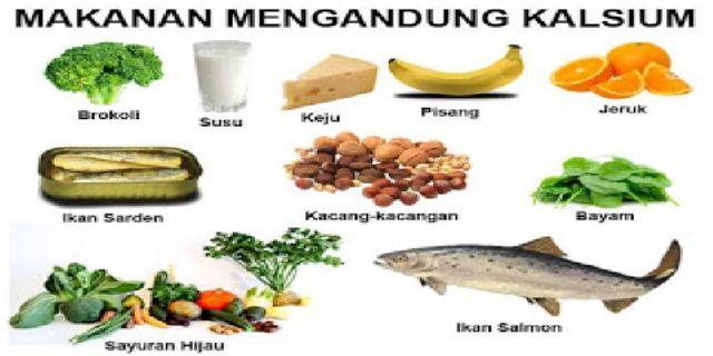 Makanan Berkalsium