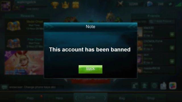 Permanent ban