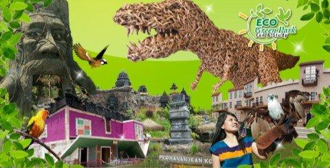 Mencintai alam dan beredukasi wisata di Eco Green Park, Malang Jawa Timur