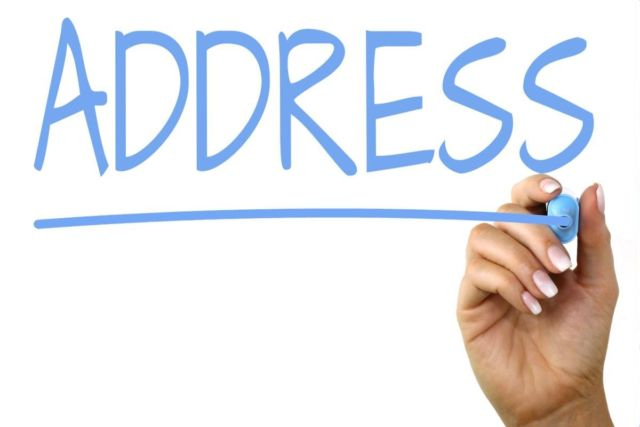 Address Hand Writiing Image