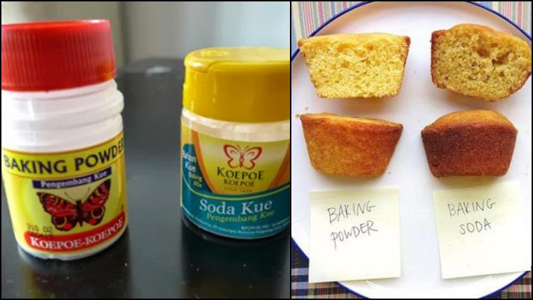 Bedanya Baking Soda Baking Powder Dan Soda Kue Bahan