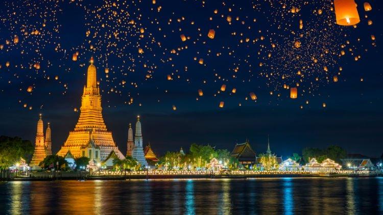 Parade Foto Destinasi Instagramable Di Bangkok Thailand Foto Di Sini Bikin Feed Instagram Makin Rapi