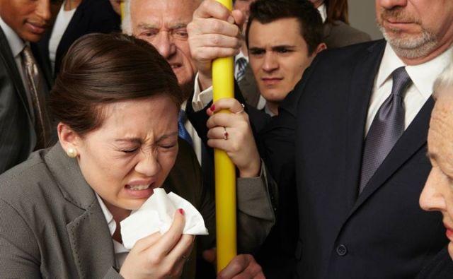 Bersin di kendaraan umum