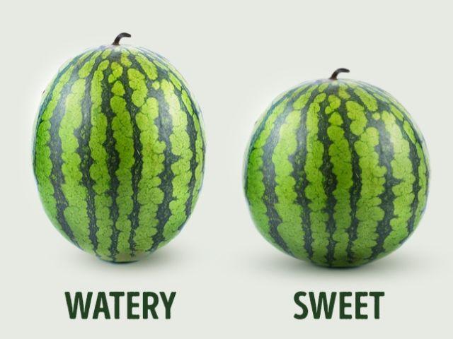 cara memilih semangka yang manis