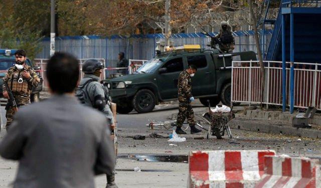 Bom bunuh diri di Kabul