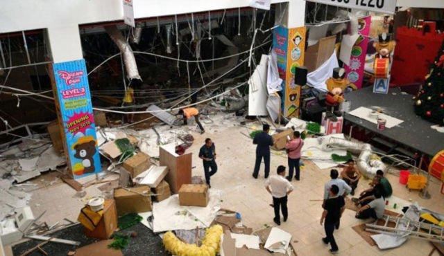Ledakan di Mall Sarawak Malaysia