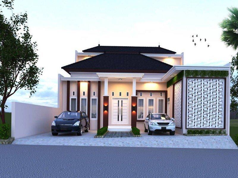 hipwee Model rumah 1 lantai