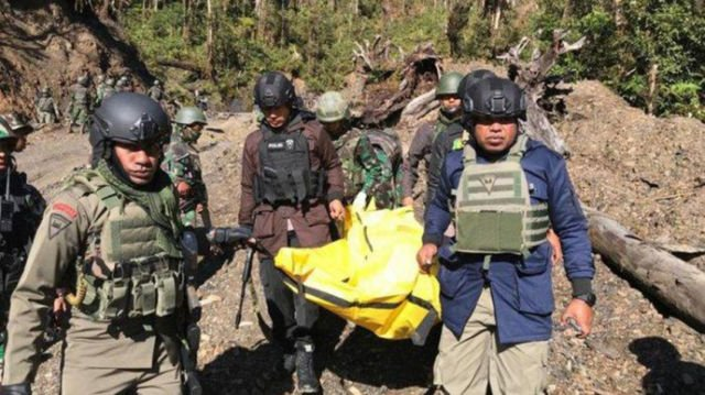 Tragedi penembakan di Papua