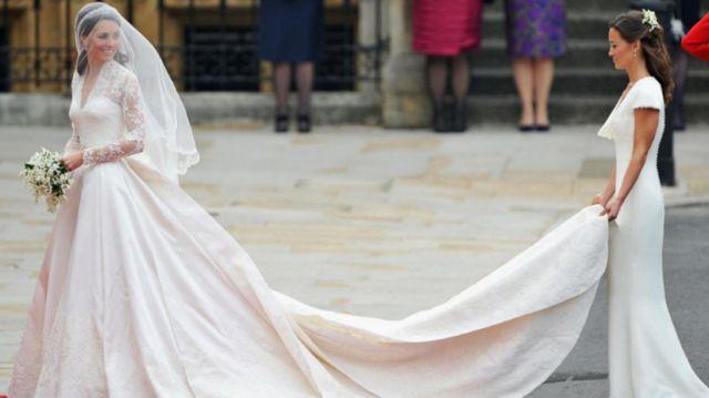Gaun Pernikahan Kate Middleton