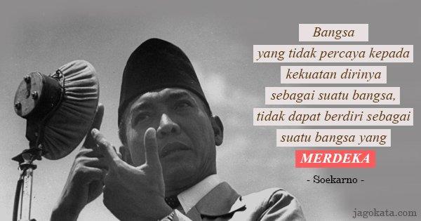 Kutipan kalimat Ir. Soekarno