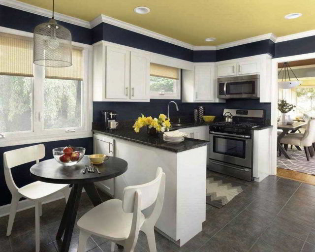 11 Penataan Dapur Dan Ruang Makan Yang Jadi Satu Biar