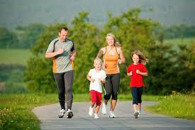 Olahraga bareng keluarga