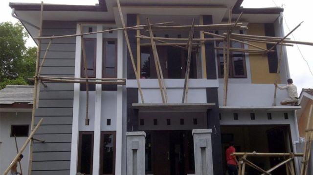 Komponen bangunan terikat dengan baik
