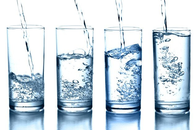 drinking water for glowing skin