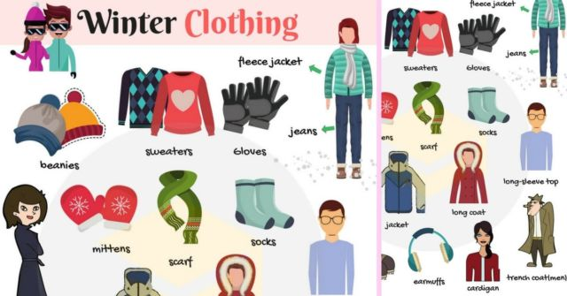 Winter Clothes Accessories