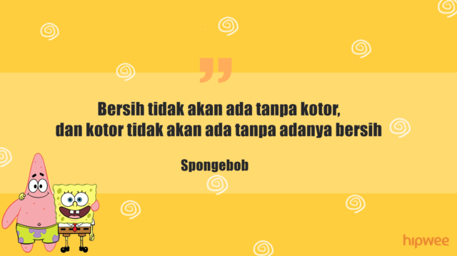 14 Kutipan Kocak Dari Serial Kartun Spongebob Yang Sangat Bijak Buat Kamu Yang Lagi Bad Mood