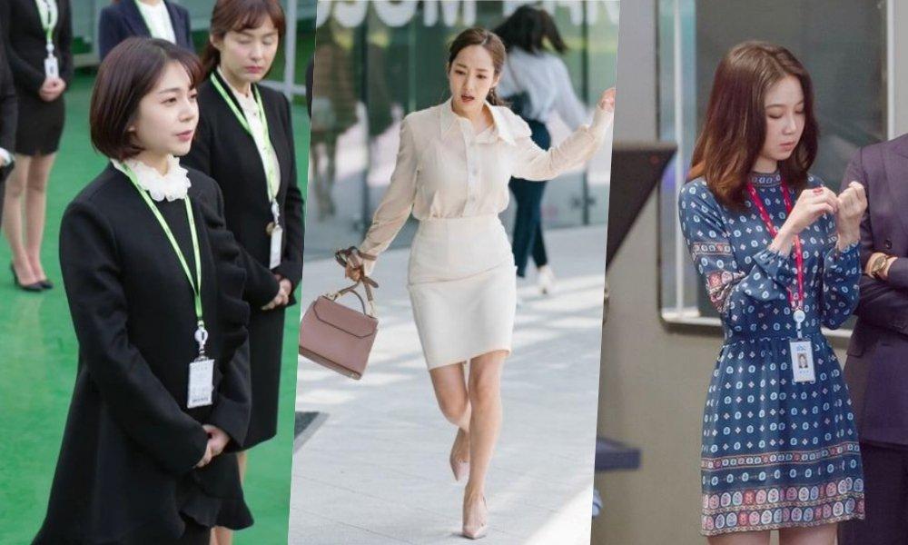8 Inspirasi Baju Kerja Wanita Ala Drama Korea Biar Tetap Fashionable Di Tempat Kerja