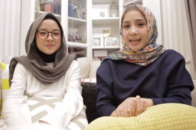 Tutorial hijab ala nissa sabyan