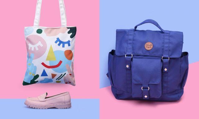 Kalau suka dompet dan tas lucu dengan harga paling mahal Rp 200 ribu-an, kalian harus banget lihat-lihat Adorable Projects.