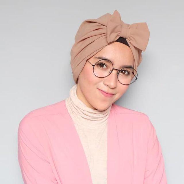 hijab turbant instan