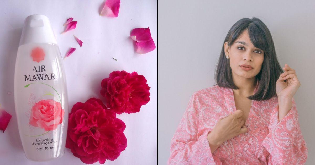 Air Mawar Nggak Cuma Dipakai Untuk Campuran Masker Saja Tapi 7 Perawatan Ini Juga