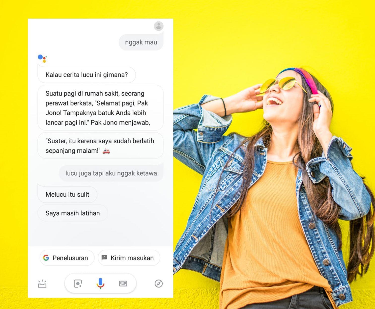 12 Obrolan Konyol Dengan Google Assistant Ternyata