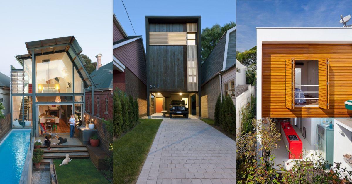 8 Desain Rumah Sempit Spektakuler Ragam Trik Mengakali Lahan Minim Dengan Cerdik